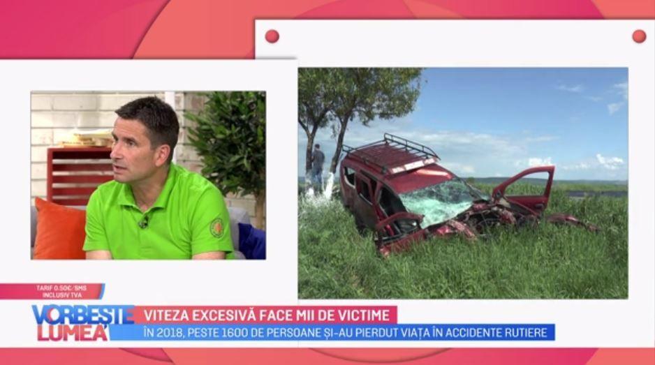 """Viața ta contează. Campania """"Zero Accidente"""" își propune să informeze cu privire la consecintele vitezei excesive"""