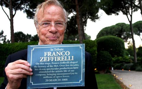 Marele cineast italian Franco Zeffirelli a murit. Avea 96 de ani