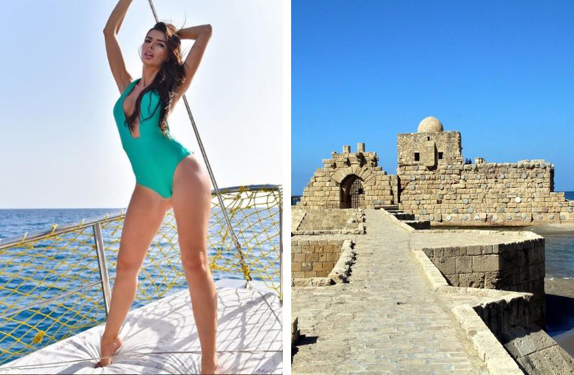 """Ioana Filimon, viața în capitala Libanului! Miss România: """"Pierdută în Beirut"""""""