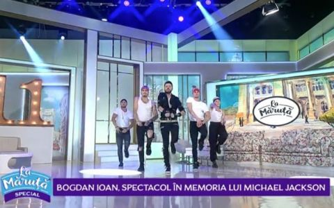 VIDEO Bogdan Ioan, spectacol în memoria lui Michael Jackson
