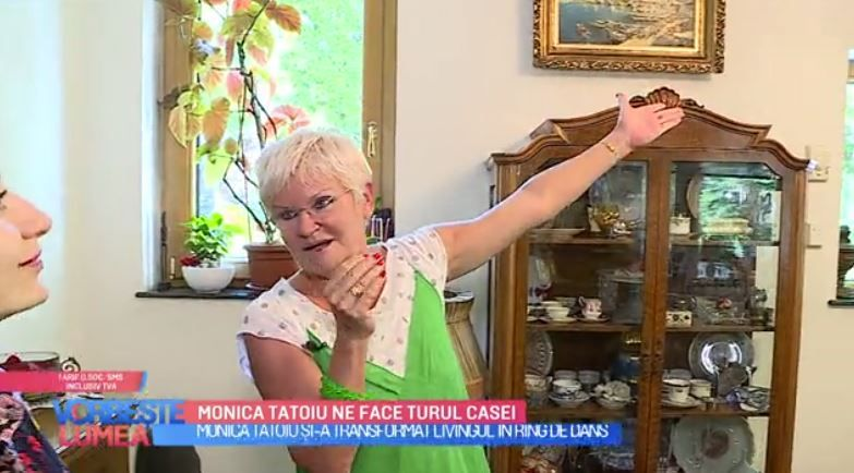 VIDEO Cum arată casa Monicăi Tatoiu