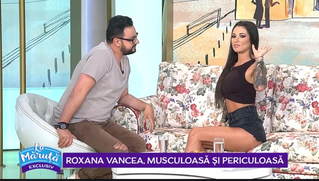 VIDEO Roxana Vancea, musculoasă și periculoasă. Aceasta a acceptat provocarea lui Cătălin Măruță