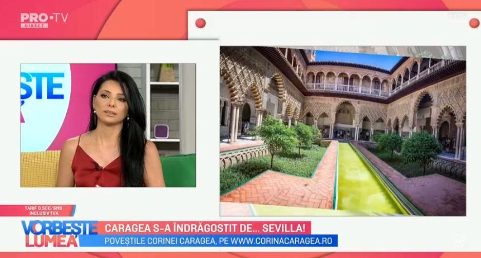 Jurnal de călătorii cu Corina Caragea. Află ce poți vizita dacă mergi în Sevilla