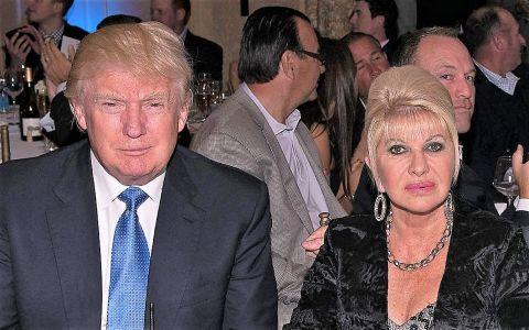 Fosta soție a lui Donald Trump, Ivana, s-a despărțit a doua oară de același bărbat