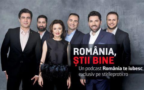 Echipa România, te iubesc! lansează podcastul România, știi bine!