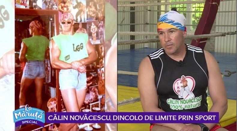 VIDEO Călin Novăcescu, dincolo de limite prin sport. Cum a slăbit 6 kilograme în 20 de minute