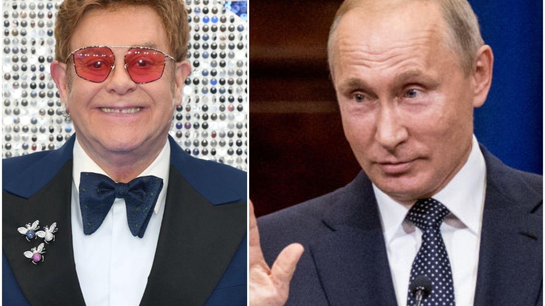 Elton John, reacție la comentariile lui Putin față de comunitatea LGBTQ. Mesajul a devenit viral