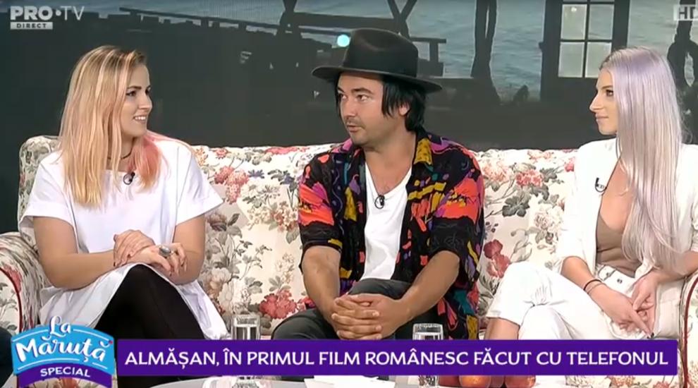 VIDEO Almășan, în primul film românesc făcut cu telefonul