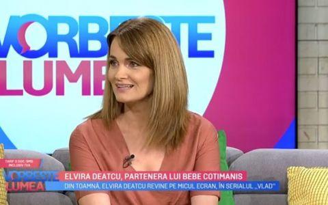 VIDEO Elvira Deatcu este Delia, în serialul VLAD