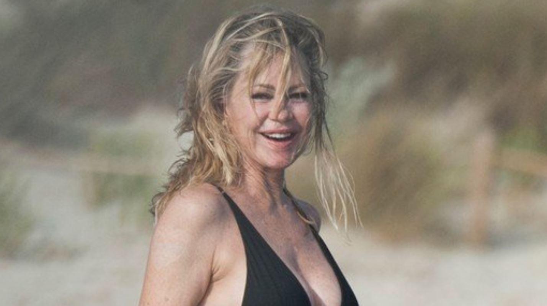 Melanie Griffith, în costum de baie la 61 de ani. Vedeta are o siluetă uimitoare