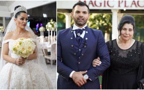 Momente emoționante la nunta anului. Ce a făcut mama lui Florin Pastramă