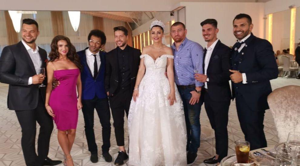 """Vedetele de la """"Ferma"""" au venit la nunta anului. Ce a declarat Moroșanu"""