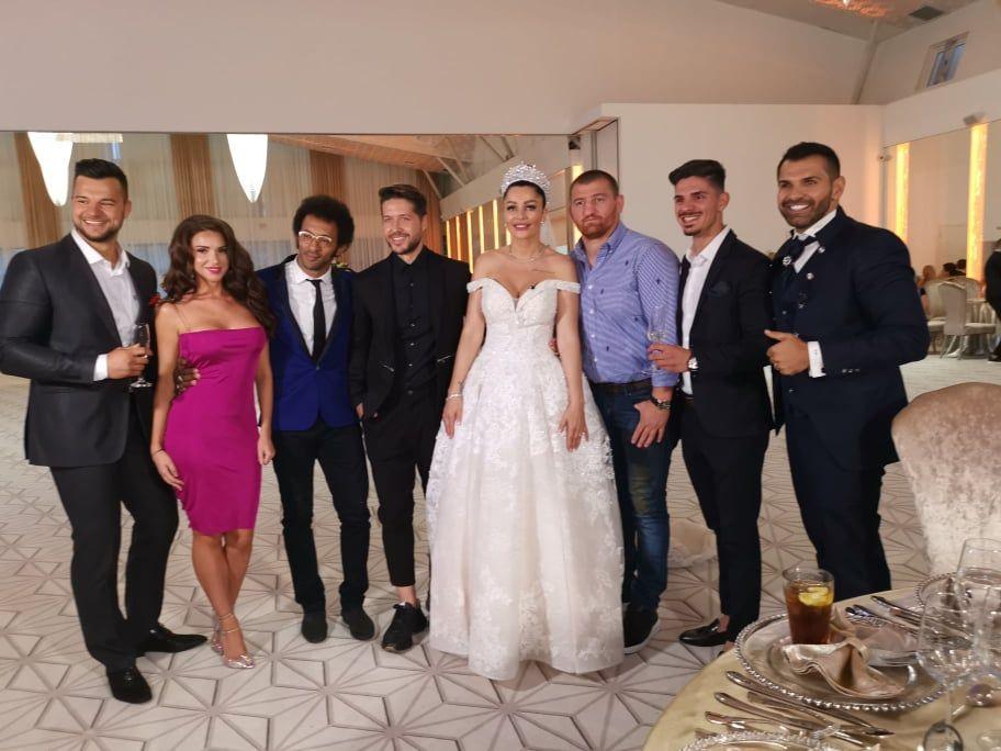 Vedetele de la  Ferma  au venit la nunta anului. Ce a declarat Moroșanu