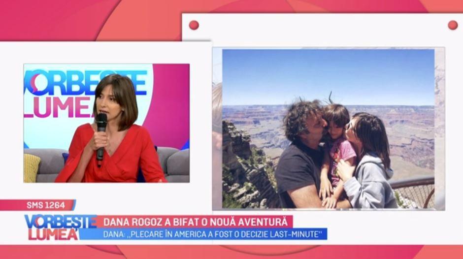 Dana Rogoz, vacanță de vis cu familia în America