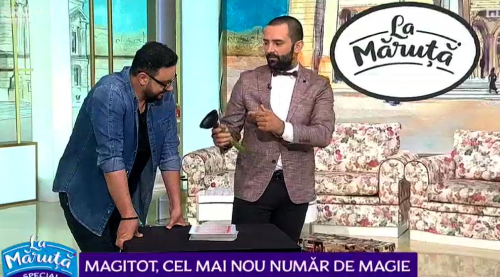 VIDEO Magitot, trucuri senzaționale de magie