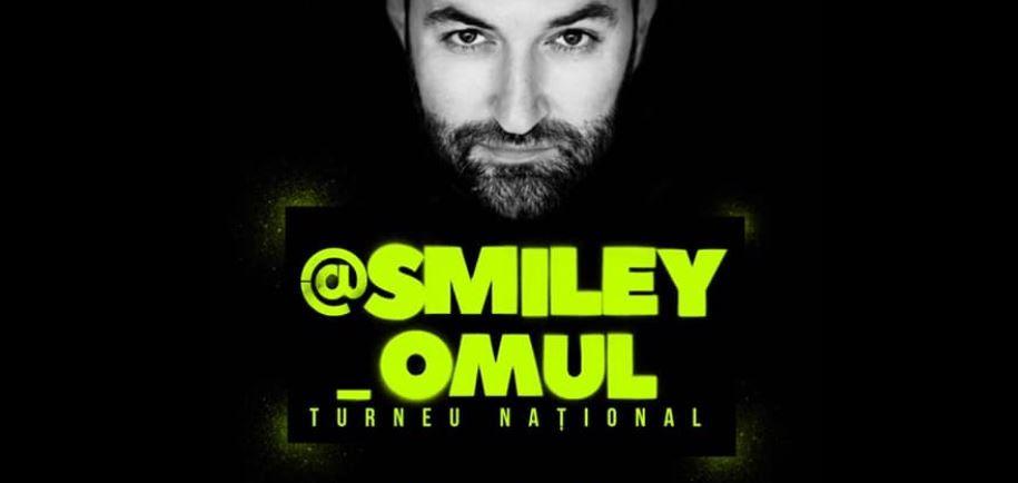 Smiley își invită fanii la cel mai mare turneu național intitulat @Smiley_Omul. Află când va debuta