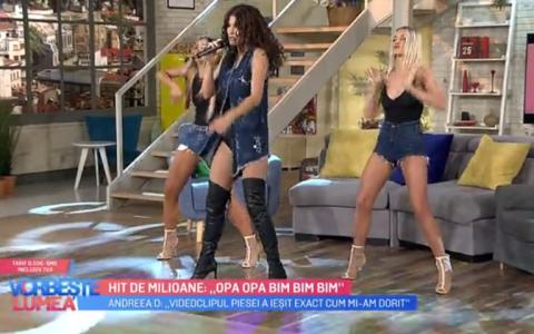 VIDEO Andreea D a lansat un hit de milioane