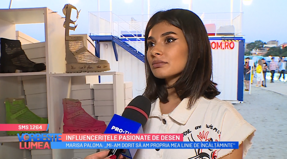 """VIDEOMarisa Paloma: """"Mi-am dorit să am propria mea linie de încălțăminte"""""""