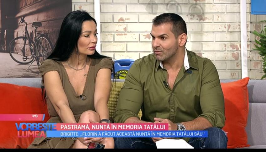 VIDEO Brigitte și Florin Pastramă, despre povestea din spatele nunții lor