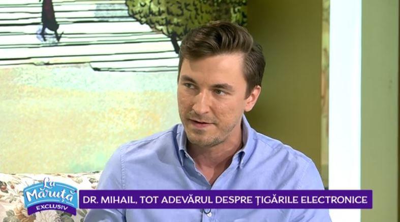 VIDEO Doctor Mihail, adevărul despre țigările electronice