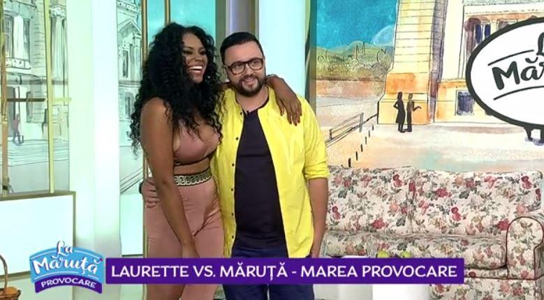VIDEO Marea provocare: Laurette vs Măruță