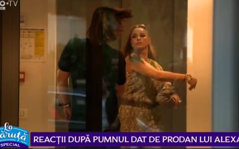 VIDEO Reacții după pumnul dat de Prodan lui Alexa.Gigi Becali:  Un bărbat bătut de o femeie n-are ce să caute la Steaua