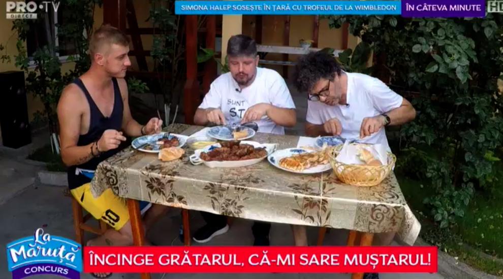 VIDEO Competiția grătarelor: Robert Ungureanu