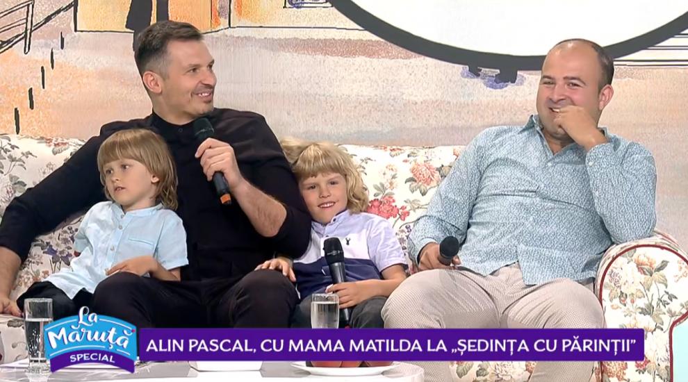 """VIDEO Alin Pascal, cu mama Matilda la """"ședința cu părinții"""""""