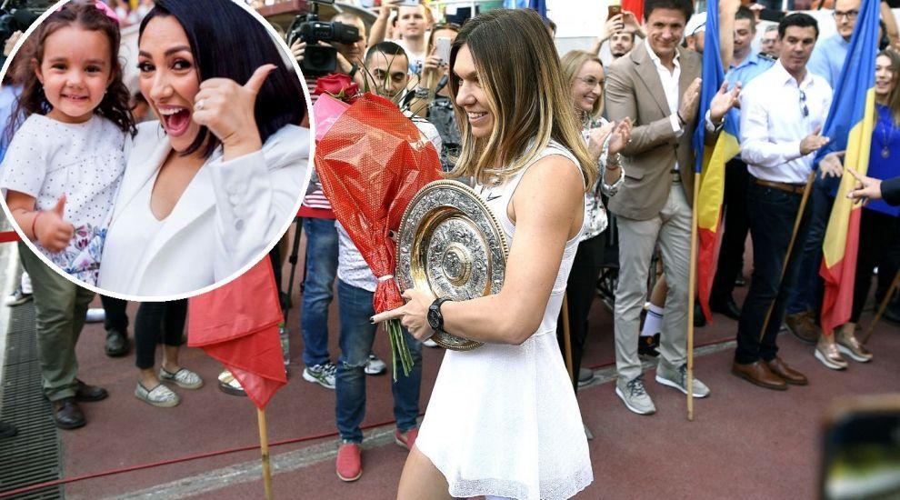Andra a cântat imnul pentru Simona Halep, pe Arena Națională. Mesajul artistei pentru regina de la Wimbledon