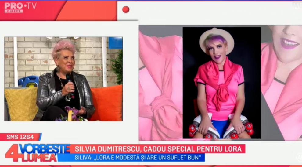 VIDEO Silvia Dumitrescu, cadou special pentru Lora