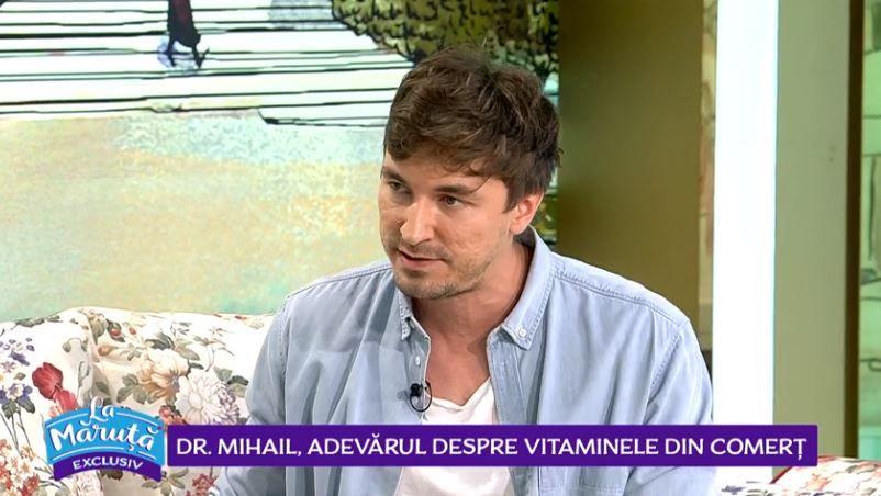 VIDEO Doctor Mihail, adevărul despre vitaminele din comerț