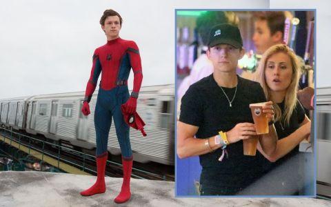 Spider-Man are iubită. Cine este blonda cu care se întâlnește actorul Tom Holland