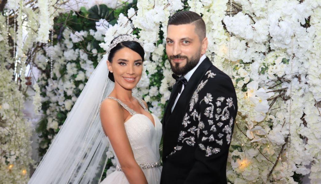 Adelina Pestrițu și Virgil Șteblea, mesaj special de la Michael Bolton la nuntă. Ce le-a transmis cântărețul