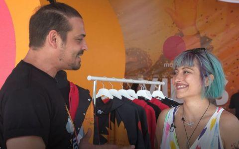 Designerul Irina Voinea, la Electric Castle. Cum arată colecția de haine creată special pentru festival VIDEO