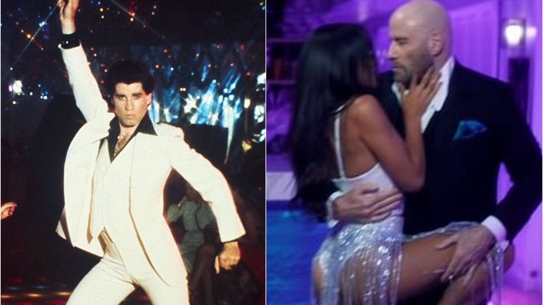 La 65 de ani, John Travolta dansează în noul videoclip al lui Pitbull.  Încă mai poate