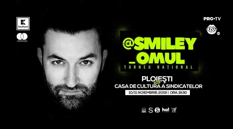 Smiley face primul sold-out în cadrul turneului pregătit de artist pentru acestă toamnă