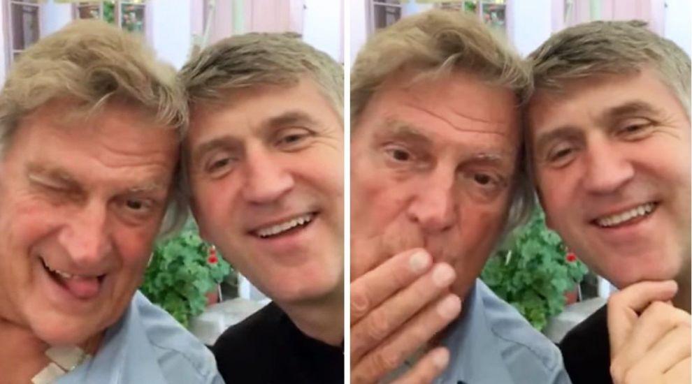 """VIDEO Florin Piersic, la un pahar cu fostul preot Cristian Pomohaci. """"No, zâceți ceva acuma"""""""