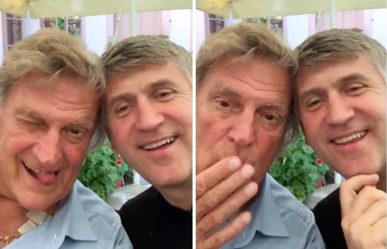 VIDEO Florin Piersic, la un pahar cu fostul preot Cristian Pomohaci. bdquo;No, zâceți ceva acuma