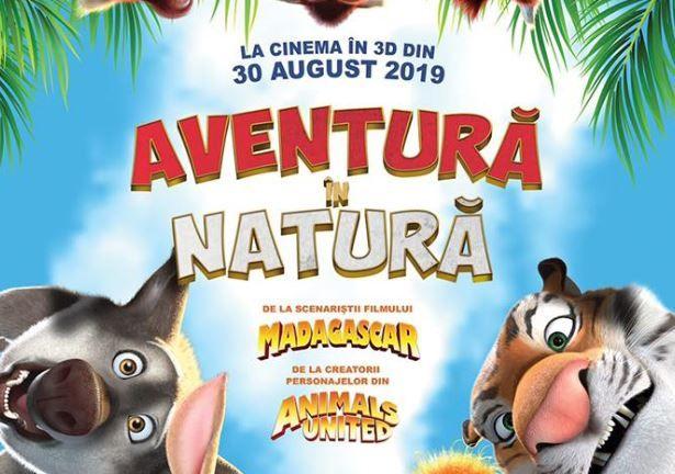 """""""Aventură în natură"""", animația care cucerește toate generațiile"""