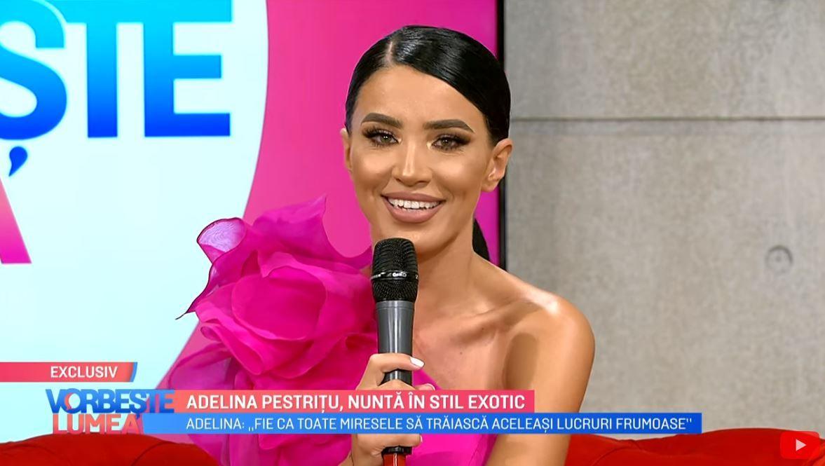 Adelina Pestrițu, dezvăluiri despre nunta anului. Ce destinație a ales pentru luna de miere