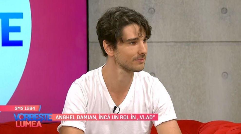 """Anghel Damian, scenarist în sezonul 2 din VLAD:""""Un sentiment la extrem îl face să fie în poveste împreună cu personajele"""""""