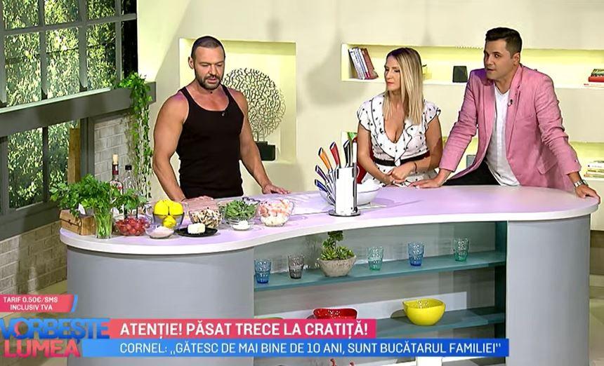 Cornel Păsat îți arată cum să prepari o rețetă delicioasă cu creveți