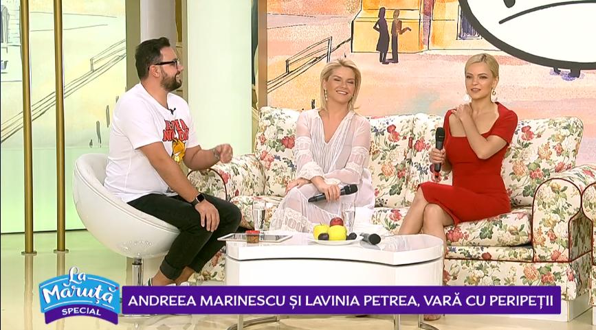 VIDEO Andreea Marinescu și Lavinia Petrea, vară cu peripeții
