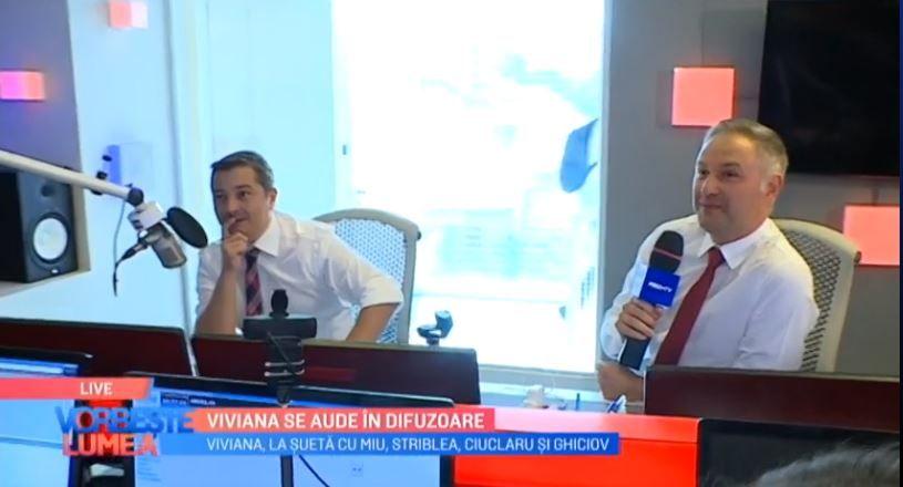 VIDEO Viviana Sposub, vizită în studioul Radio