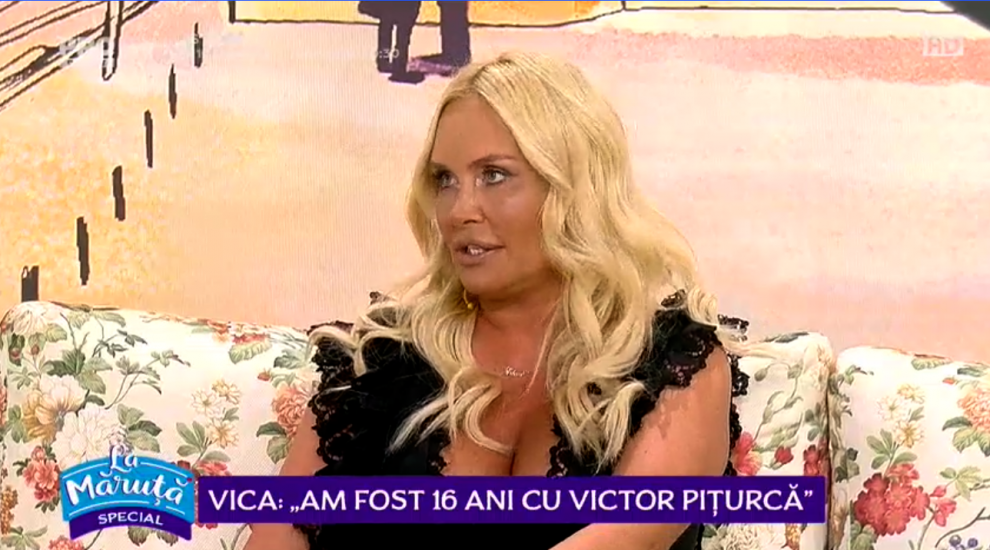 Vica Blochina, dezvăluiri despre relația de 16 ani pe care a avut-o cu Victor Pițurcă