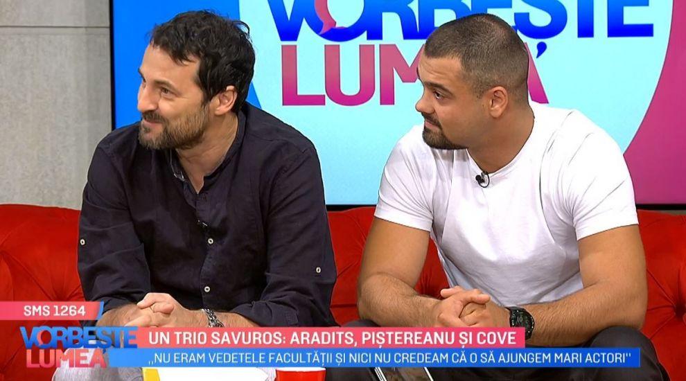 VIDEO  George Piștereanu și Andrei Aradits, despre perioada facultății