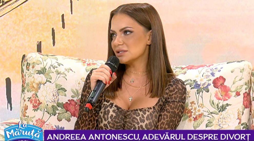 """VIDEO Andreea Antonescu, adevărul despre divorț: """"Nu m-am văzut vreodată mireasă"""""""