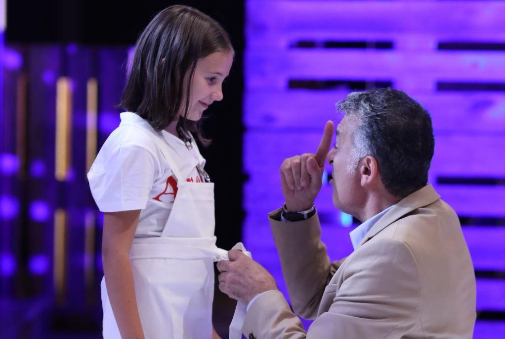 Chef Joseph Hadad a îngenuncheat în fața unei fetițe în prima ediție MasterChef