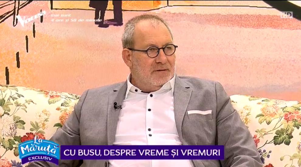 VIDEO La Măruță cu Florin Busuioc, despre vreme și vremuri