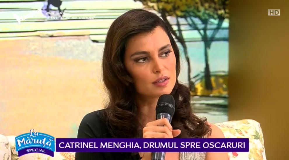 VIDEO Catrinel Menghia, despre filmul propus de România la Premiile Oscar